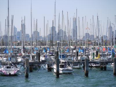 Yacht harbor of St. Kilda