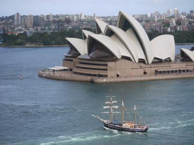 Opera building in Sydney Harbor