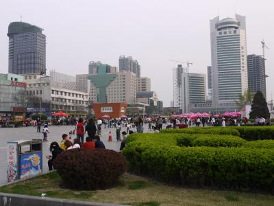 Central square in Taiyuan