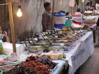 Luang Prabang's night food market