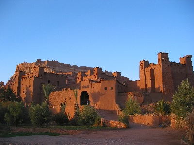 Ait Ben Haddou at sunset